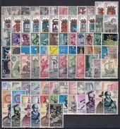 ESPAÑA 1964 Nº 1541/1630 AÑO NUEVO COMPLETO CON ESCUDOS,90 SELLOS - Ganze Jahrgänge