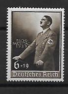 544-ALLEMAGNE-III REICH-1939 Commémoration Du Discours Prononcé Le 1er Mai Par Hitler YT 636 NEUF ** - Nuevos