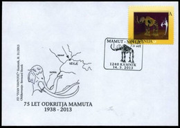 Slovénie 2013 Et 2014 -  2 Enveloppes Premier Jour Fossiles ** - Prehistóricos