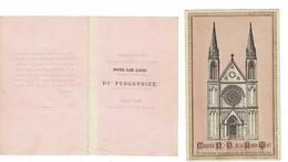 Image , Pieuse, Religieuse Et Canivet. Chapelle N. D. De La Bonne Mort - Saint Marie De Tinchebray ( Orne) - Religione & Esoterismo