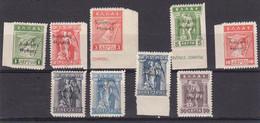 Thrace 1920 Occupation Grecque Yvert 85 / 93 **  Neufs Sans Charniere Timbres De Grece De 1912 Surcharges - Thrace