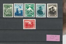 37309 ) Romania Scout 1934 Set Mint Hinged * - Nuevos