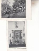 PENSIONNAT D ' HAUTRAGES    LOT 2 CPA - Saint-Ghislain