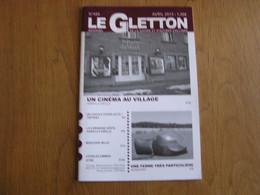 LE GLETTON N° 445 Régionalisme Gaume Ardenne Cinéma Habay La Vieille C Zimmer Ethe Machiniste Stockem Train SNCB - Belgique