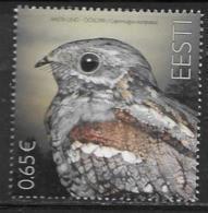ESTONIA, 2019, MNH,  FAUNA, BIRDS, BIRD OF THE YEAR, NIGHTJAR,1v - Otros