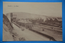 Jemelle : La Gare Avec Train à Vapeur Et Oldtimer - Rochefort