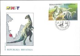 Croatie 1994 -  FDC Dinosaure - Prehistóricos