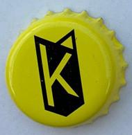 Kroonkurken 210 Kompel Geel - Beer