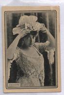 ADVERTISING L. MURCIANO HIJO   MALAGA - SPAIN -  WINE EXPORTER LIT. MADRIGUERA ZACCONI   SEXY WOMAN 6 CM X 4 CM - Werbepostkarten