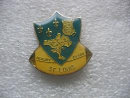 Pin's Du Rugby Club De Saint Louis (Dépt 68) - Rugby