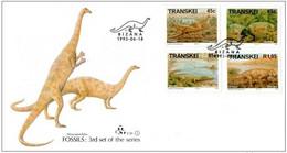Transkei 1993 - FDC Fossiles - Prehistóricos