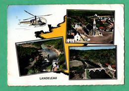 29 Finistere Landeleau Carte Multivues Aerienne Lapie Editeur ( Plis Dans Un Angle Voir Scans ) - Altri Comuni
