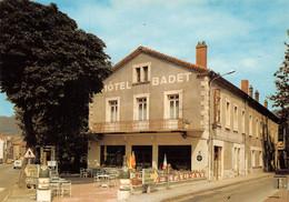 SAINT-PÉRAY (07) CPSM ±1970 - L'Hôtel BADET Au Carrefour Des Routes De Tournon Et Lamastre - Éd. CELLARD - (õ‿õ) ♥ - Saint Péray