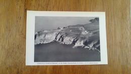 GRAVURES PHOTOGRAPHIQUES  - L OEUVRE DE LA NATURE EN BRETAGNE - LE CAP FREHEL  ( COTE DU NORD )  VU D AVION - Posters