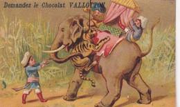 RARE CHROMO SUISSE / LAUSANNE / DEMANDEZ LE CHOCOLAT VALLOTTON / ELEPHANT - Sin Clasificación