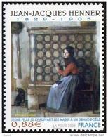 France Autoadhésif N°  223 ** Au Modèle 4286 - Peinture De Jean Jacques HENNER - Jeune Fille Se Chauffant  Les Mains - Sellos Autoadhesivos