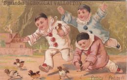 RARE CHROMO SUISSE / LAUSANNE / DEMANDEZ LE CHOCOLAT VALLOTTON / PETITS PETITS - Sin Clasificación
