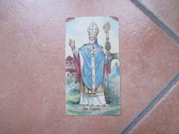 SAN CATALDO Taranto 9 Febbraio 1902 Sagomato - Devotieprenten