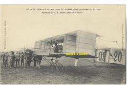 Grande Semaine D'aviation - Paulhan  Prêt à Partir Sur Voisin Biplan ) - Aviadores