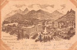 CPA Mineralbad & Terrainhurort BADBRONN Kestenholtz (Elsass) - Chatenois