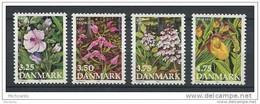 Dannemark N° 984 à 987 ** - Unused Stamps