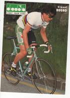 GIANNI BUGNO SIGNEE CHAMPION DU MONDE FORMAT 15 X 21 Cms DIADORA - Cycling