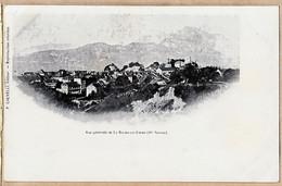 X74150 Editeur F.CALVELLI LA-ROCHE-sur-FORON Haute-Savoie Vue Village 1900s - La Roche-sur-Foron