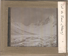 COL DE TARI (4.600 M) - Plaque De Verre 8,4 X 9,9 Cm - Diapositiva Su Vetro