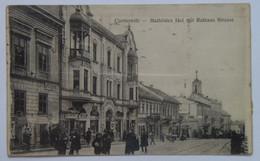 Ukraine M91 Chernivtsi Czernowitz Mathilden Court And The Town Hall Street Apotheke Phamacy - Ucrania