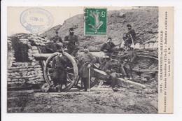 CP MILITARIA CHAMPIGNY LA BATAILLE Souvenir De L'année Terrible 1870 71 Batterie Exterieure - Altre Guerre