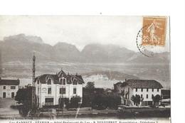 SEVRIER  HOTEL RESTAURANT   DU LAC     M. R. DUFOURNET  PROPRIETAIRE DEPT 74 - Autres Communes