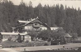 SAN CANDIDO-BOZEN-BOLZANO-PARC HOTEL=SOLE-PARADISO=-CARTOLINA VERA FOTO-VIAGGIATA IL 24-8-1948 - Bolzano (Bozen)