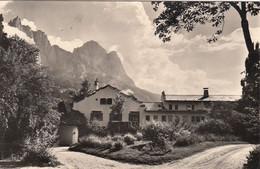 SIUSI-BOZEN-BOLZANO-PENSIONE-ALBERGO=VILLA MIRABELL=-CARTOLINA VERA FOTO-VIAGGIATA IL 24-3-1965 - Bolzano (Bozen)