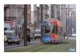 SAINT-ÉTIENNE (42) CPM  1998 - Tramway De La STAS Décoré à L'occasion De La Sortie Du Film De DISNEY HERCULE - (õ‿õ) ♥ - Rive De Gier