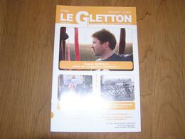 LE GLETTON N° 494 Régionalisme Gaume Ardenne Patrimoine Ferroviaire De Gaume Garde Barrière Houdrigny Villers La Loue - Bélgica