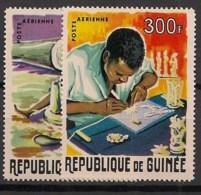 Guinée - 1965 - Poste Aérienne PA N°Yv. 52 à 53 - Artisanat - Neuf Luxe ** / MNH / Postfrisch - Guinee (1958-...)