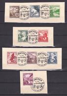 Deutsches Reich - 1938 - Michel Nr. 675/683 - Sonderstempel - Deutschland