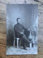 Carte-Photo, Militaire, Prisonnier, Guerre 14-18, Allemagne, Soltau, Vers Nandrin, 1916 - Weltkrieg 1914-18