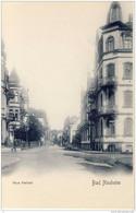 BAD NAUHEIM 1900 Blick In Neue Karlsstrasse Triumph Karte - Bad Nauheim