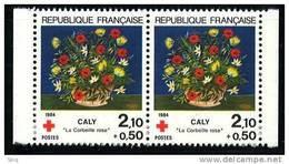 N° 2345 A Paire, Année 1984 Issu Du Carnet Croix Rouge, Faciale 2x(2,10+0,50)F - Ongebruikt