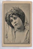 ADVERTISING L. MURCIANO HIJO PRIES MALAGA  SPAIN  WINE EXPORTER LIT. MADRIGUERA PANDUROU SEXY WOMAN 6 CM X 4 CM - Werbepostkarten