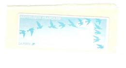 Vignette Lisa Turquoise Type Oiseaux De Jubert Neuve Vierge Sans Valeur - 1990 Type «Oiseaux De Jubert»