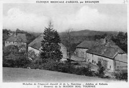 Clinique Médicale D'ARGUEL (Doubs) - 12 CPA Différentes. Bon état. 12 Scan - Other Municipalities