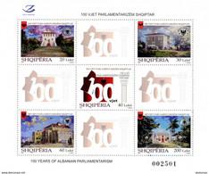 2020 The 100th Anniversary Of The Albanian Parliament, Albania, MNH - Albania