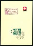 300 Mit Sonderstempel A. 536 Grosser Preis Der Schweiz Bern 26.-27. Mai 51 - Cartas