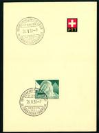 300 Mit Sonderstempel S. 325 Commission Executive Et De Liaison De L'Union Postale Universelle St. Gallen Session 1951 - Cartas