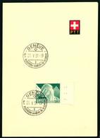 300 Mit Sonderstempel S. 324II 4e Assemblée Mondiale De La Sante Genève 25.V. 51 - Cartas