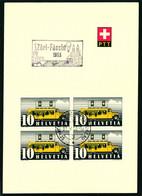 210 Mit Sonderstempel A. 615 Züri Fäscht 1953 - Cartas