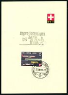 343 Mit Sonderstempel A. 816 Zürcher Sechseläuten - Cartas