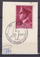 Deutsches Reich - 1942 - Michel Nr. 813 - Sonderstempel - Used Stamps